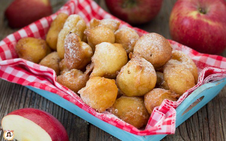 Frittelle di mele e ricotta - Bombette Dolci alle mele