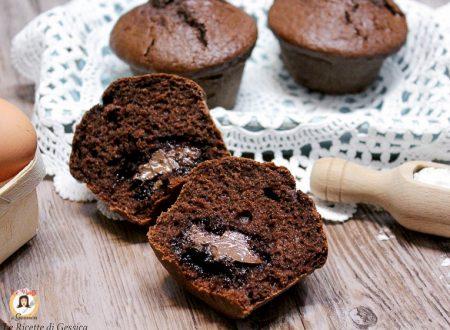 Muffin con cuore di Nutella – Anche Bimby