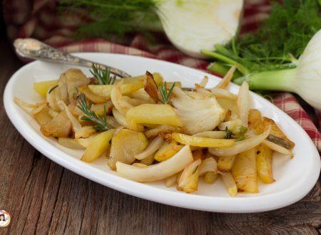 Finocchi e patate in padella – Contorno facile