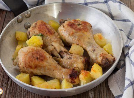 Cosce di pollo in padella, tipo arrosto
