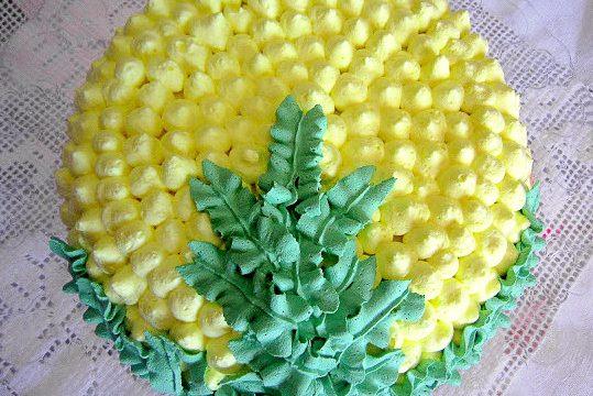Crostata Mimosa con crema al limone – Per la Festa delle Donne
