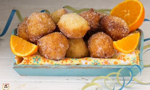 Frittelle all'arancia - Anche Bimby