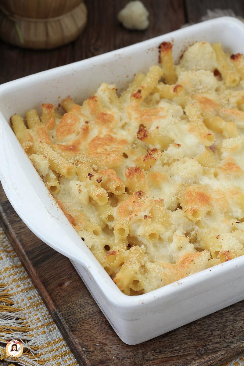 Pasta Al Forno Con Cavolfiore E Prosciutto Primo Piatto Senza Besciamella
