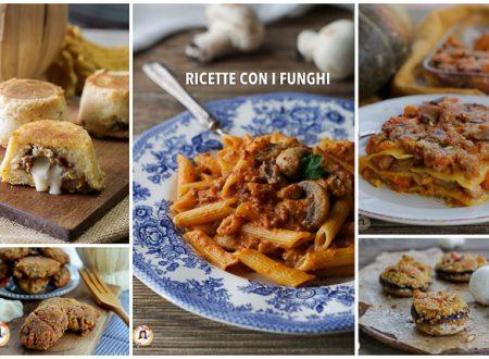 Ricette con i funghi – Primi, secondi e contorni