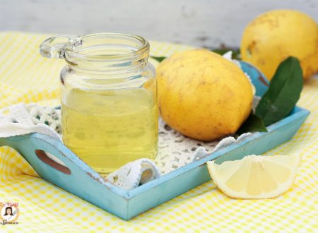 Bagna al limoncello per torte e dolci
