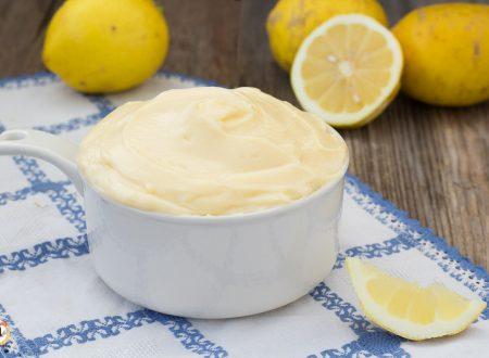 Crema al limone con uova intere – Anche Bimby