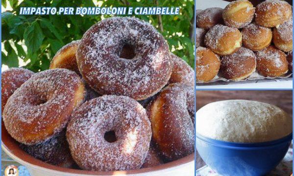 Impasto per Bomboloni e ciambelle cotti al forno o fritti – Anche Bimby