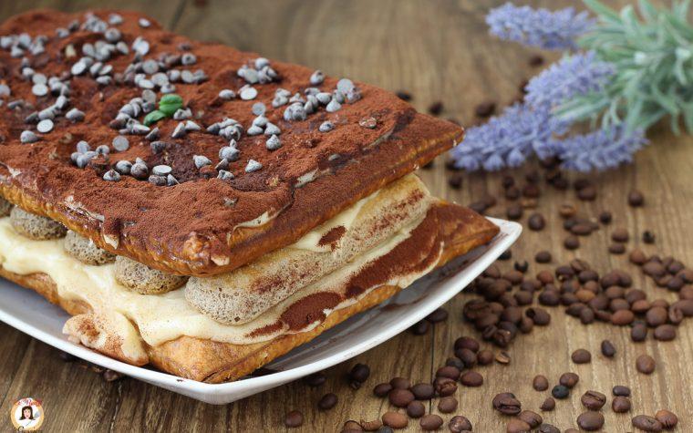 Millefoglie al caffè con crema al tiramisù e savoiardi – Anche Bimby