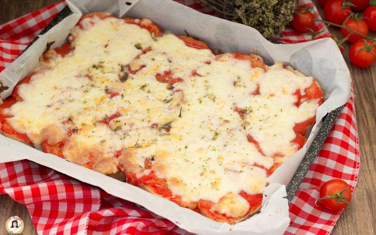 Pizza di pane - Ricetta con pane raffermo