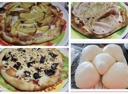 Impasto per pizza fatta in casa a lunga lievitazione – Anche Bimby