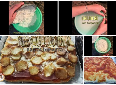 Pizza in ciotola – Senza impastare