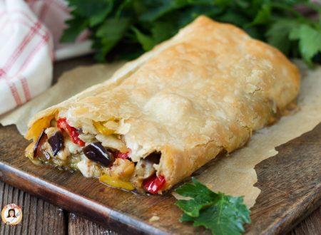 Rotolo di verdure – Antipasto o secondo piatto con pasta sfoglia