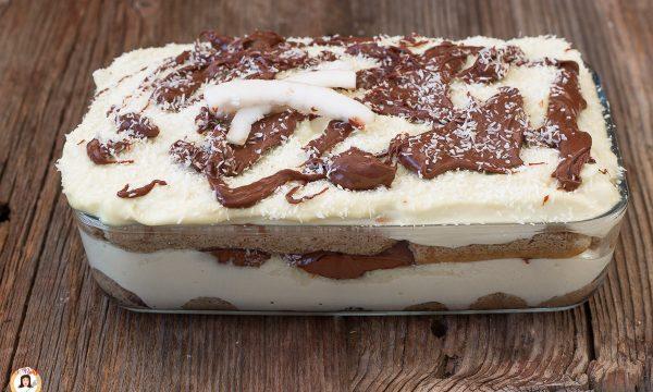 Tiramisù cocco e Nutella – Anche Bimby