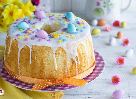 Chiffon Cake di Pasqua – Torta al limone soffice e alta