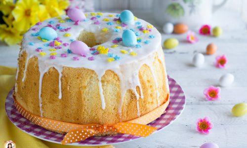 Chiffon Cake di Pasqua - Torta al limone soffice e alta