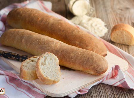 Filoncini di pane con farina di semola – Impasto con lievito madre o di birra, anche Bimby