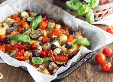 Verdure miste al forno – Contorno facile e leggero