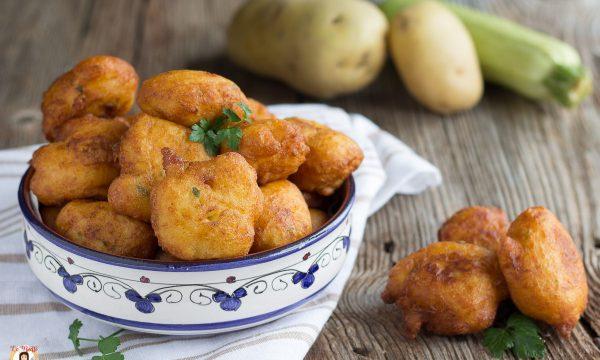 Frittelle di patate e zucchine – polpette soffici, Secondo piatto facile