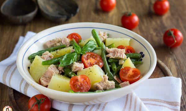 Insalata di fagiolini con patate e tonno – Contorno o Piatto unico