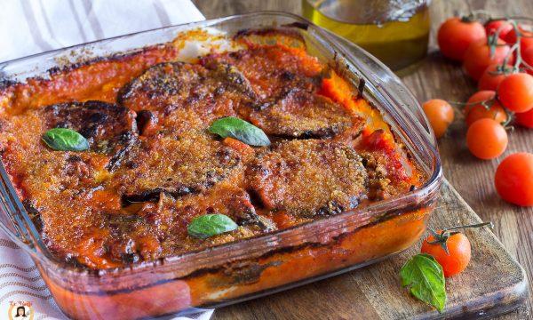 Parmigiana di melanzane grigliate – Secondo piatto cotto al forno