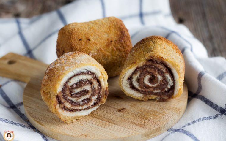 Rotolini alla Nutella - Bombette dolci croccanti