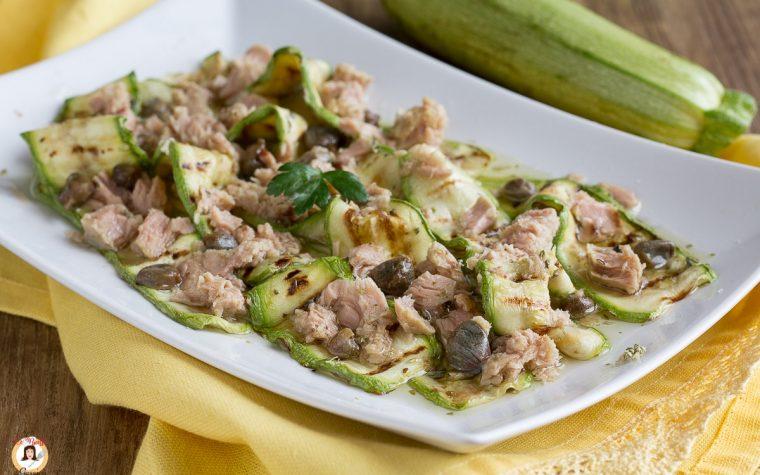 Zucchine al tonno - Antipasto o secondo piatto facile