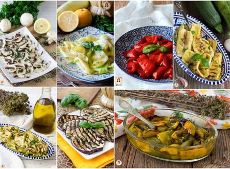 Contorni freddi di verdure – o antipasti freddi per buffet