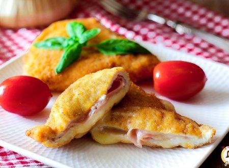 Cotolette di pollo ripiene di prosciutto cotto e formaggio – Secondo piatto