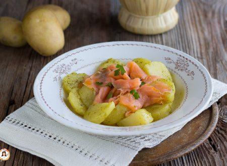 Insalata di patate e salmone – Secondo piatto freddo