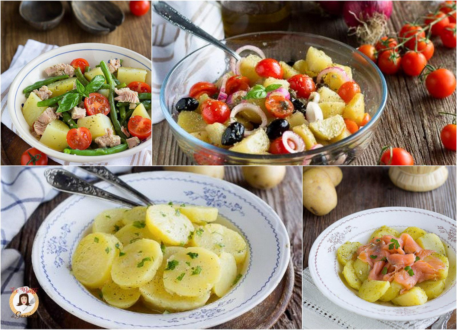 Insalate di patate lesse ricette per piatti freddi for Ricette piatti freddi