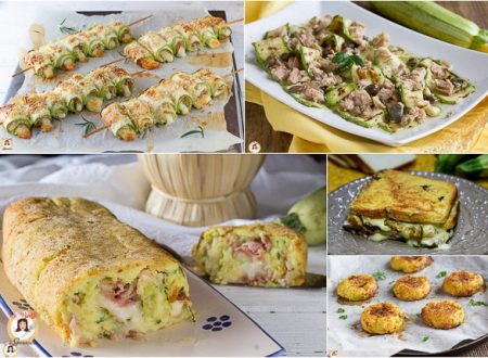 Ricette con le zucchine – I migliori contorni, primi e secondi piatti