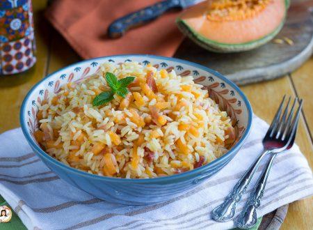 Insalata di riso con melone e speck – Primo piatto freddo