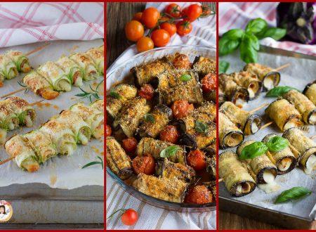 Involtini di verdure – Le 10 migliori ricette di antipasti, primi e secondi
