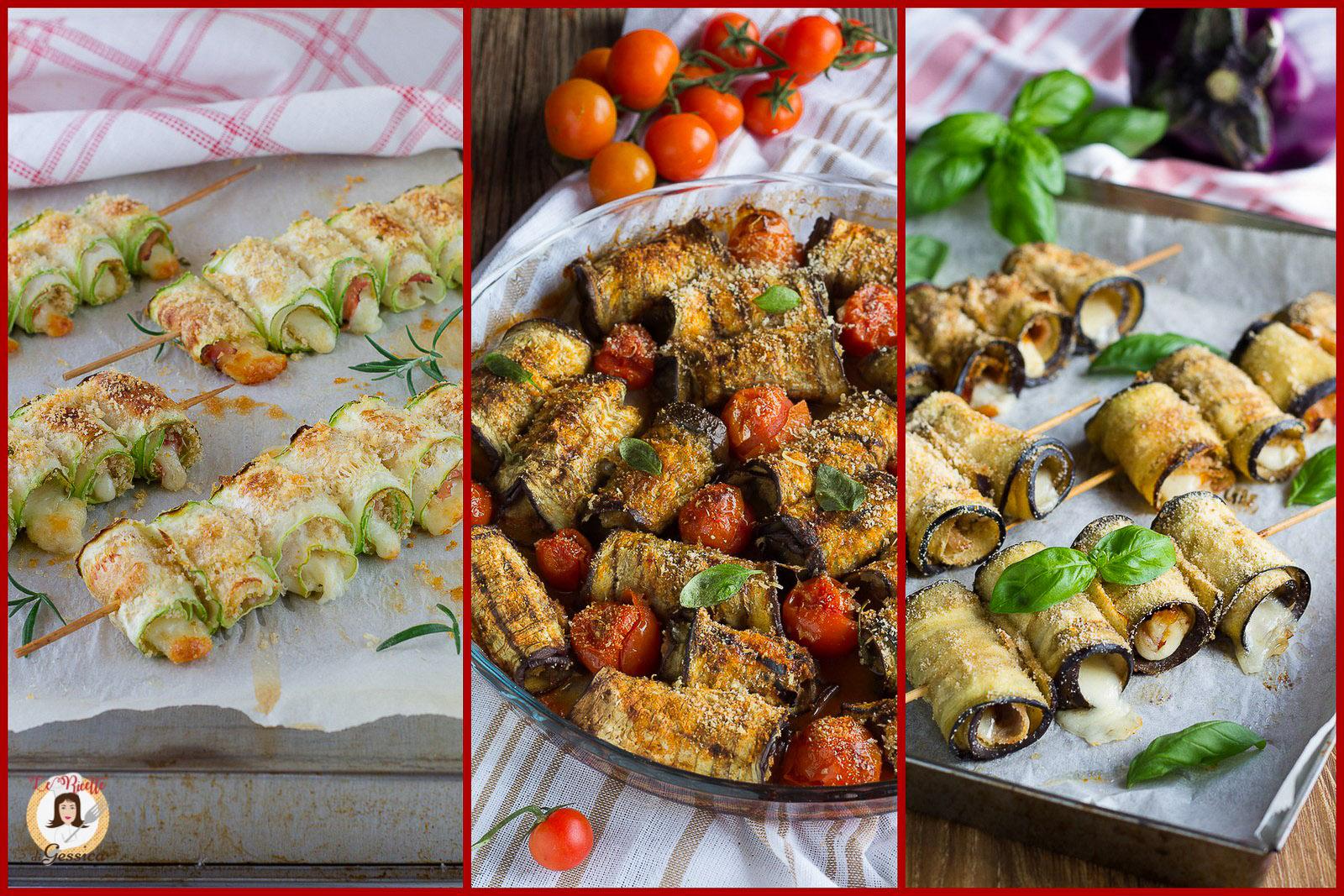 Antipasti Di Natale Con Verdure.Involtini Di Verdure 10 Ricette Facili Di Antipasti Primi E Secondi Piatti