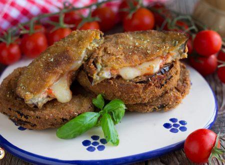 Medaglioni di melanzane alla pizzaiola – Secondo piatto facile
