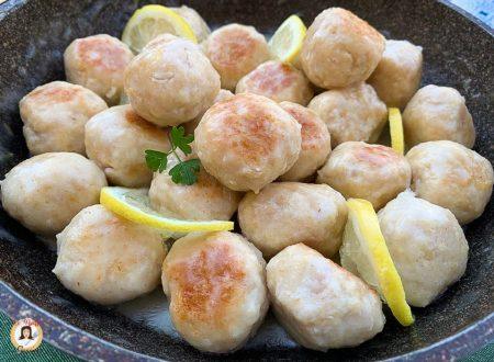 Polpette di tacchino al limone – Secondo piatto cremoso
