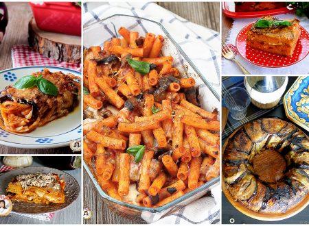 Primi piatti con le melanzane – Ricette di pasta o lasagne