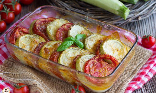 Zucchine al forno con mozzarella – Contorno facile