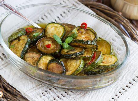 Zucchine alla Poverella – Contorno freddo facile