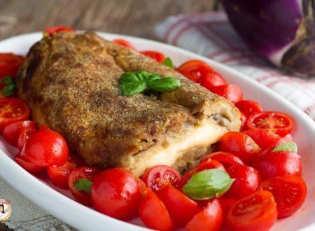 Polpettone di melanzane – Secondo piatto cotto al forno
