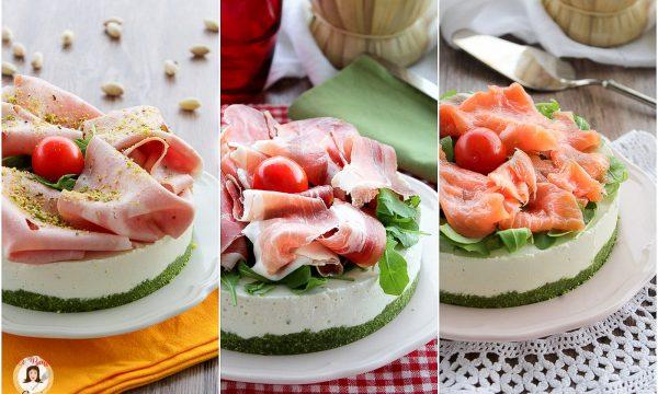 Ricetta Cheesecake salata – Antipasto freddo