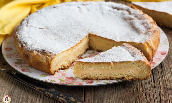 Torta Pasticciotto –  Dolce di pasta frolla frolla ripiena di crema