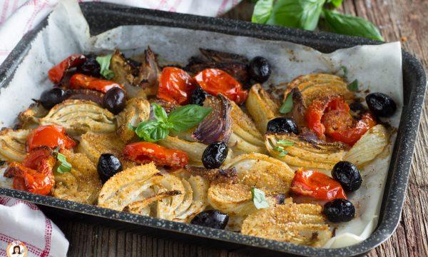 Finocchi gratinati al forno alla Mediterranea – Contorno facile