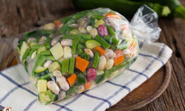 Minestrone di verdure da congelare fatto in casa – Per ricette di zuppe e minestre