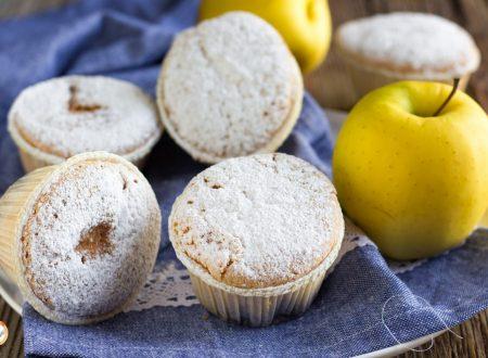 Muffin alle mele con farina di riso – Senza glutine e lattosio
