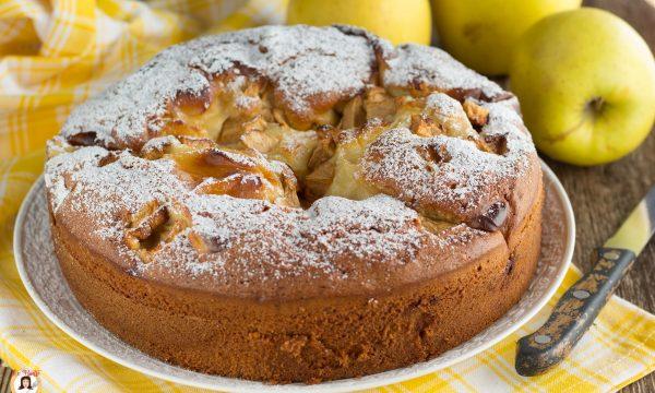 Torta di mele e crema – Ricetta anche Bimby
