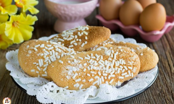 Biscotti morbidi da inzuppo – Tipo Savoiardi