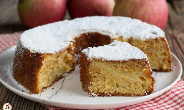 Ciambella mele e panna montata – Torta deliziosa sofficissima