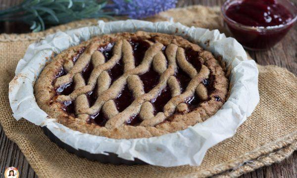 Crostata di grano saraceno e marmellata – Torta senza glutine