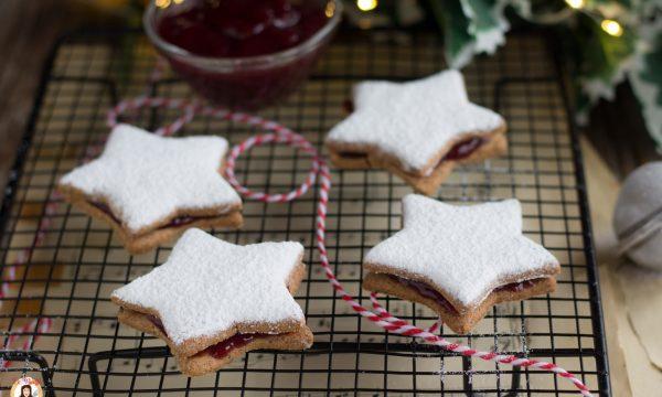 Biscotti con farina di grano saraceno e marmellata – STELLINE INTEGRALI